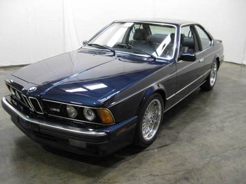 1988 BMW M6 for sale at Classic AutoSmith in Marietta GA