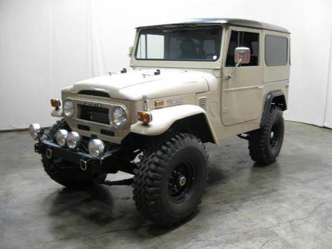 1974 Toyota FJ Cruiser for sale at Classic AutoSmith in Marietta GA