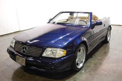 2001 Mercedes-Benz SL-Class for sale at Classic AutoSmith in Marietta GA