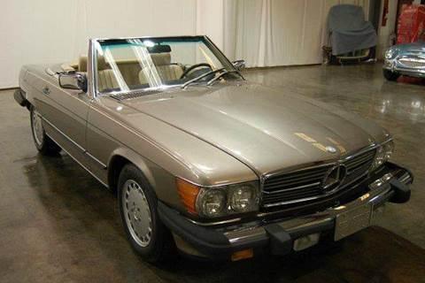 1987 Mercedes-Benz 450 SL for sale at Classic AutoSmith in Marietta GA