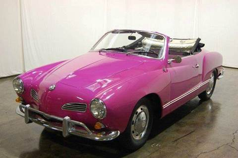1967 Volkswagen Karmann Ghia for sale at Classic AutoSmith in Marietta GA