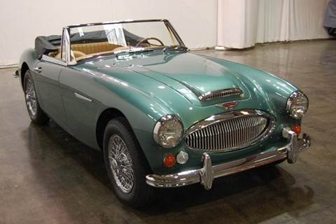 1966 Austin-Healey 3000 Body Off