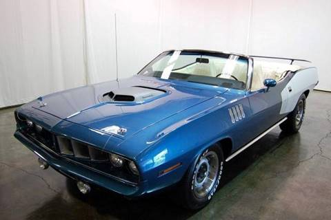 1971 Plymouth Barracuda for sale at Classic AutoSmith in Marietta GA