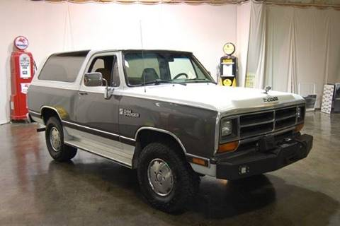 1988 Dodge Ramcharger for sale at Classic AutoSmith in Marietta GA