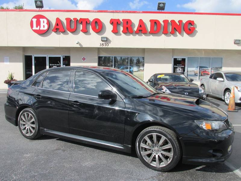 2009 subaru impreza awd wrx 4dr sedan in orlando fl lb auto trading. Black Bedroom Furniture Sets. Home Design Ideas