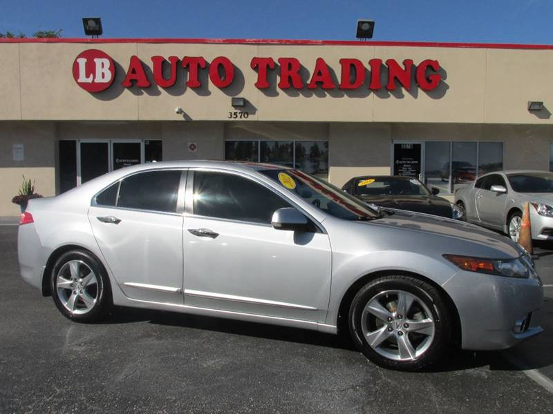 2012 acura tsx 4dr sedan w technology package in orlando. Black Bedroom Furniture Sets. Home Design Ideas
