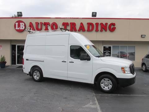 2015 Nissan NV Cargo for sale in Orlando, FL