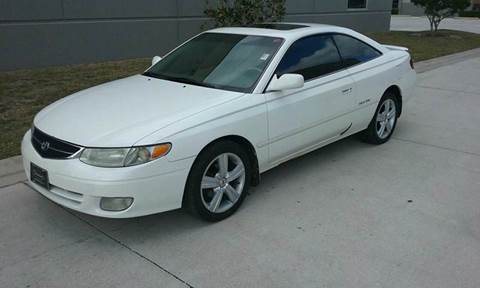 2000 Toyota Camry Solara for sale at Coastal Car Brokers LLC in Tampa FL