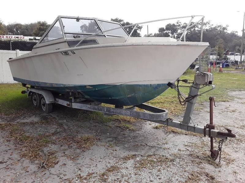 "1981 space craft 23'4""  - Tampa FL"