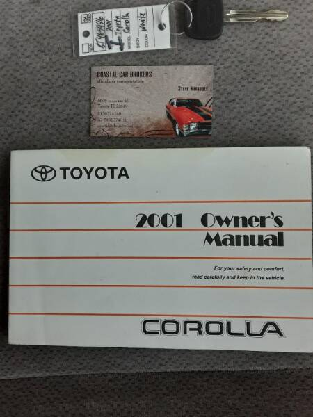 2001 Toyota Corolla LE 4dr Sedan - Tampa FL