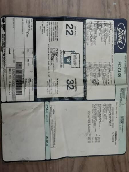 2007 Ford Focus ZX4 ST 4dr Sedan - Tampa FL