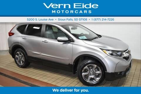 2017 Honda CR-V EX-L for sale at VERN EIDE HONDA in Sioux Falls SD