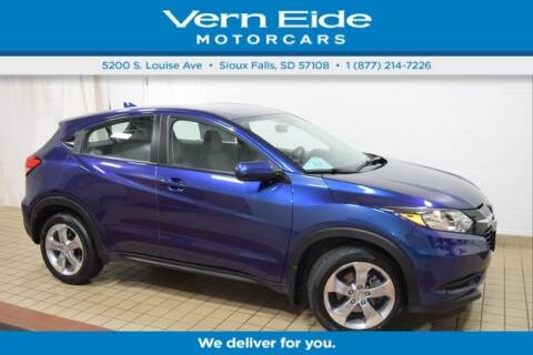2017 Honda HR-V LX for sale at VERN EIDE HONDA in Sioux Falls SD