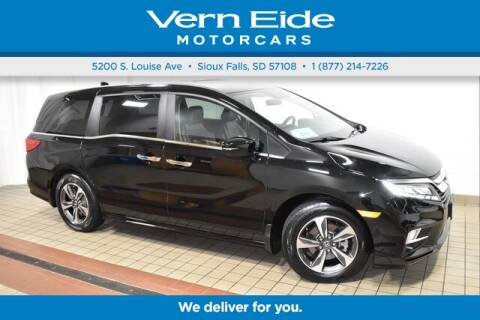 2018 Honda Odyssey Touring for sale at VERN EIDE HONDA in Sioux Falls SD