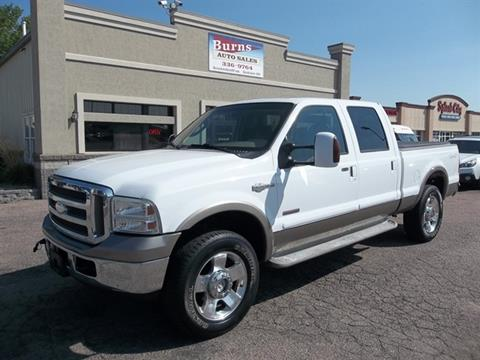 2006 Ford F-250 Super Duty for sale in Sioux Falls SD