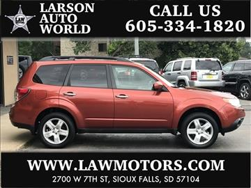 2010 Subaru Forester for sale in Sioux Falls, SD