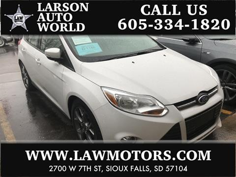 Ford focus for sale in sioux falls sd for Law motors sioux falls