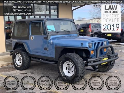 1987 Jeep Wrangler for sale in Sioux Falls, SD