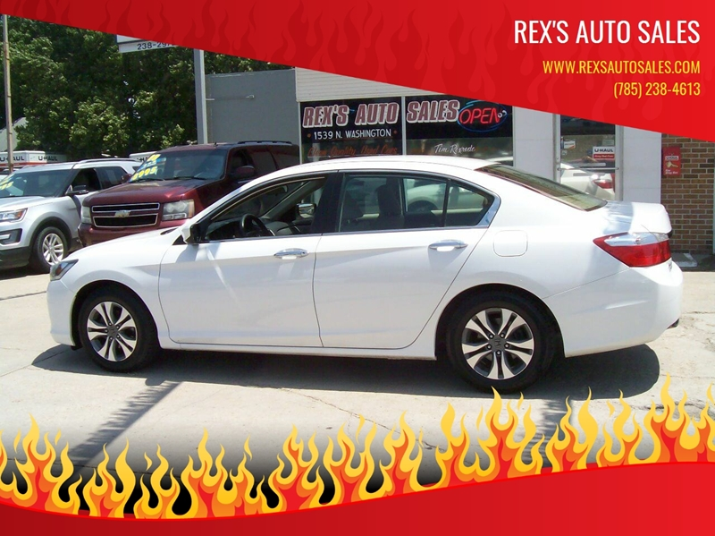 2014 Honda Accord LX 4dr Sedan CVT In Junction City KS