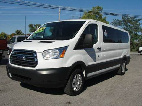 2015 Ford Transit Wagon for sale at Caesars Auto in Bergen NY