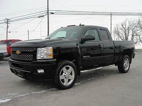 2013 Chevrolet Silverado 2500HD for sale at Caesars Auto in Bergen NY