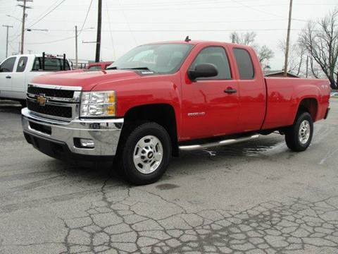 2011 Chevrolet Silverado 2500HD for sale at Caesars Auto in Bergen NY