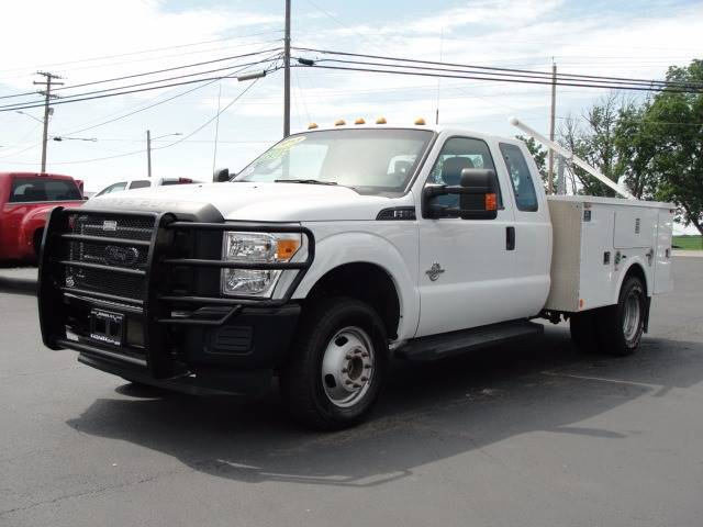 2013 Ford F-350 Super Duty 4x4 XL 4dr SuperCab 8 ft. LB DRW Pickup - Bergen NY