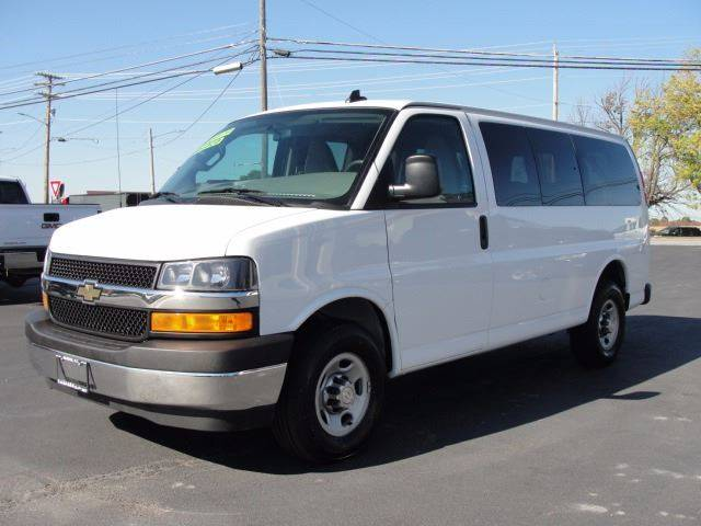 2017 Chevrolet Express Passenger for sale at Caesars Auto in Bergen NY