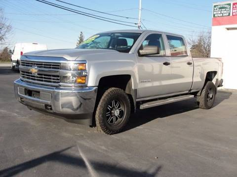2016 Chevrolet Silverado 2500HD for sale at Caesars Auto in Bergen NY