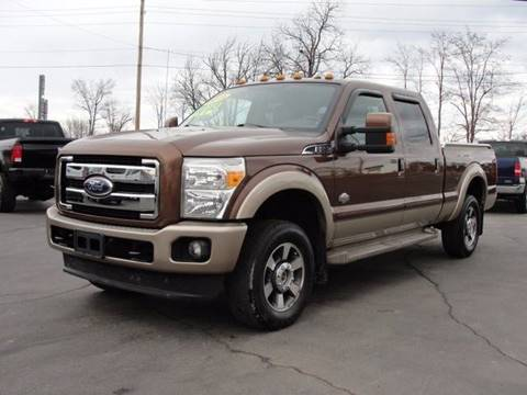 2011 Ford F-250 Super Duty for sale at Caesars Auto in Bergen NY