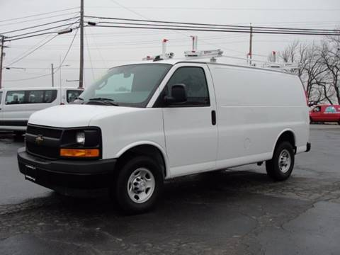 2017 Chevrolet Express Cargo for sale at Caesars Auto in Bergen NY