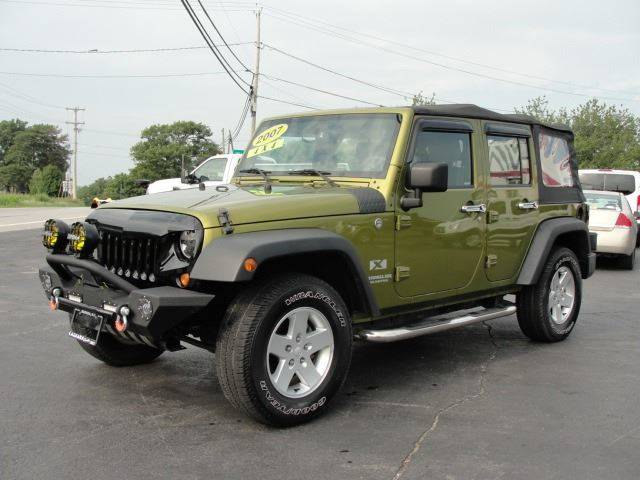 2007 Jeep Wrangler Unlimited for sale at Caesars Auto in Bergen NY