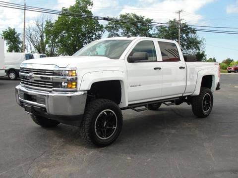 2015 Chevrolet Silverado 2500HD for sale at Caesars Auto in Bergen NY