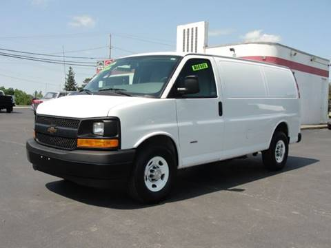 2017 Chevrolet DIESEL Express 2500 for sale at Caesars Auto in Bergen NY