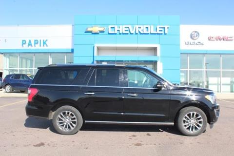 2018 Ford Expedition MAX for sale in Luverne, MN