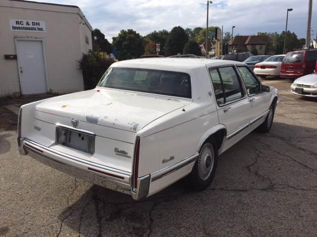 1993 Cadillac Deville 4dr Sedan In Milwaukee Wi Big Bills