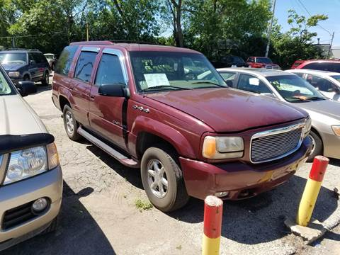 1999 Cadillac Escalade for sale at Big Bills in Milwaukee WI