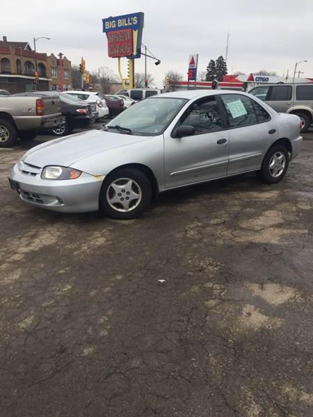 2003 chevrolet cavalier 4dr sedan in milwaukee wi big bills big bills