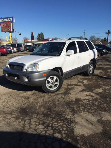2002 Hyundai Santa Fe Awd Gls 4dr Suv In Milwaukee Wi Big Bills