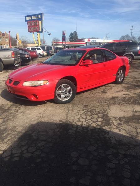 1998 pontiac grand prix gt 2dr coupe in milwaukee wi big bills 1998 pontiac grand prix gt 2dr coupe in