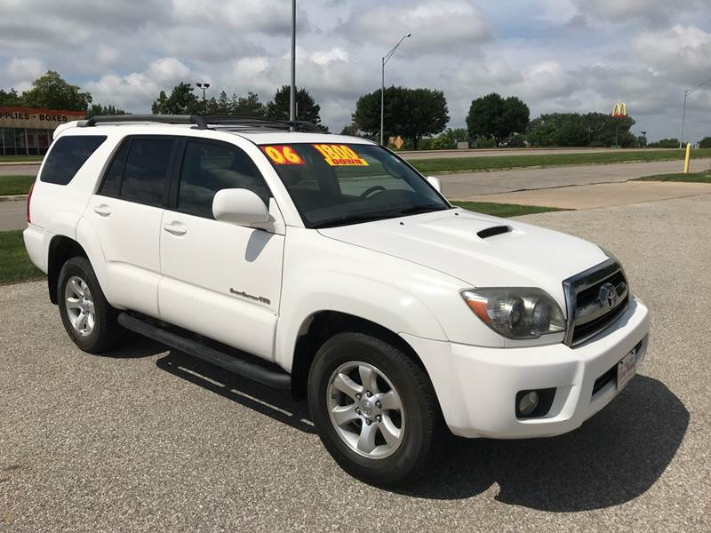 2006 Toyota 4Runner Sport Edition 4dr SUV 4WD W/V6   Waterloo IA