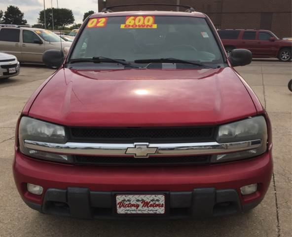 2002 Chevrolet TrailBlazer LT 4WD 4dr SUV - Waterloo IA