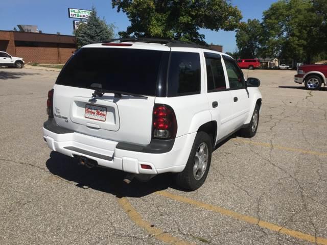 2008 Chevrolet TrailBlazer 4x4 LT1 4dr SUV - Waterloo IA