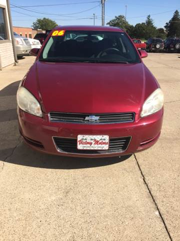 2006 Chevrolet Impala LT 4dr Sedan w/3.5L w/ roof rail curtain delete - Waterloo IA