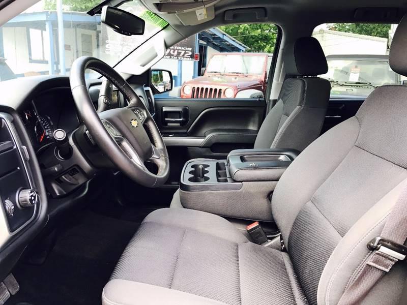 2014 Chevrolet Silverado 1500 4x2 LT 4dr Crew Cab 5.8 ft. SB - Conroe TX