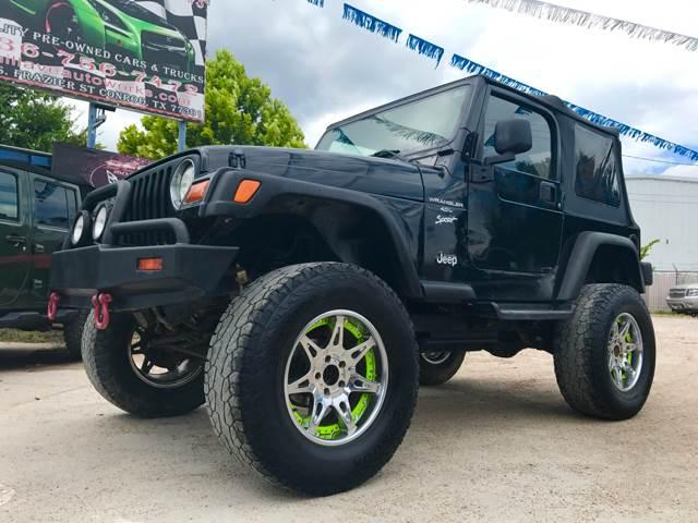1999 Jeep Wrangler 2dr Sport 4WD SUV - Conroe TX