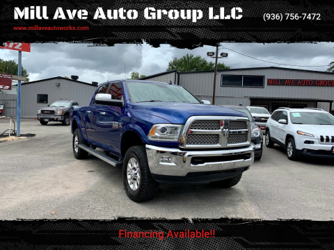 2016 RAM Ram Pickup 2500 for sale at Mill Ave Auto Group LLC in Conroe TX