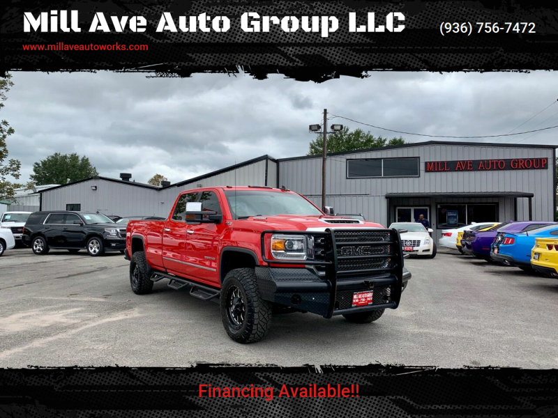 2017 GMC Sierra 3500HD for sale at Mill Ave Auto Group LLC in Conroe TX
