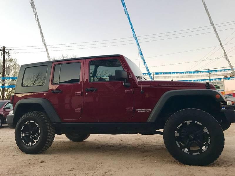 2008 Jeep Wrangler Unlimited 4x4 Rubicon 4dr SUV - Conroe TX