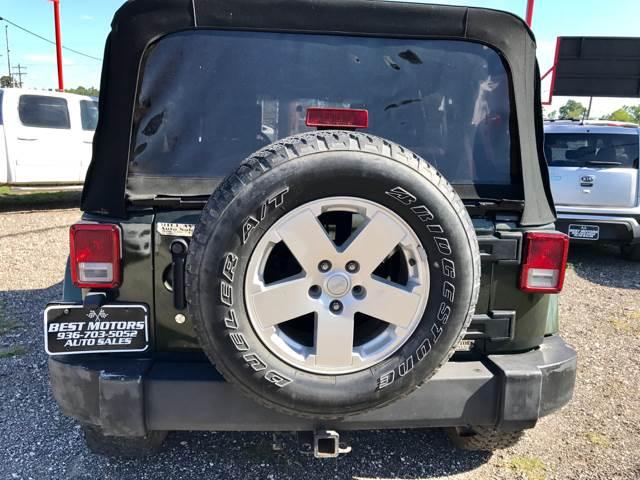 2007 Jeep Wrangler Unlimited 4x4 Sahara 4dr SUV - Conroe TX